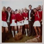 SC 07 Bad Neuenahr - Gruppenfoto mit den Franz Beckenbauer und Gerd Mueller
