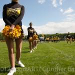 Cheerleaders beim Freundscaftsspile von Retro-Germany