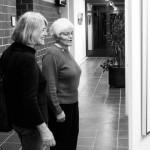 Vernissage_Ingelheim_B. Wohlleben mit ihrer Schwester Gisela