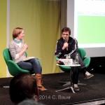 """""""Vegan eXtreme"""" - Podiumsgespräch mit C. Chemnitz,  H.-Böll-Stiftung"""