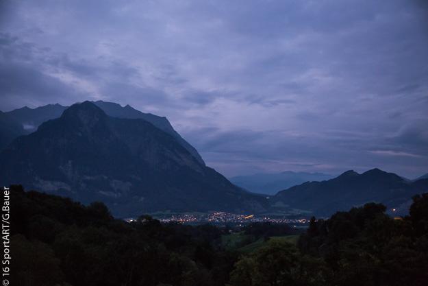 9. Tag: Stefan Chares beim den Deca Ultratriathlon in Buchs/ Schweiz
